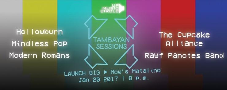 Tambayan Sessions Launch Gig