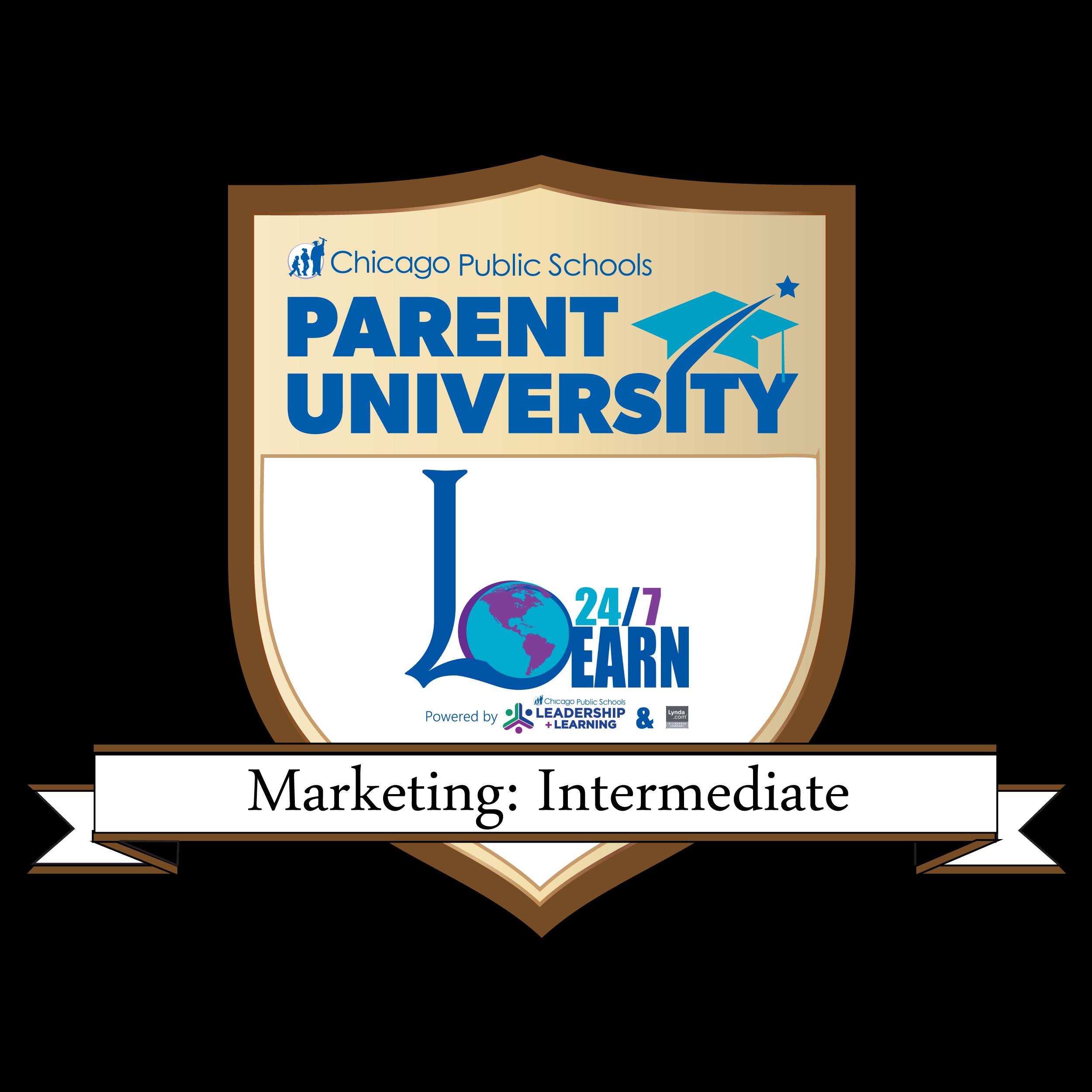 Marketing: Intermediate