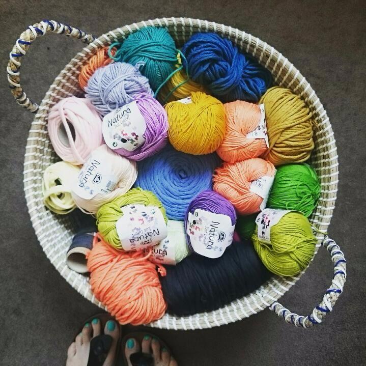 a tidy yarn stash