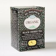 Organic Black Cherry Ceylon from St. Dalfour
