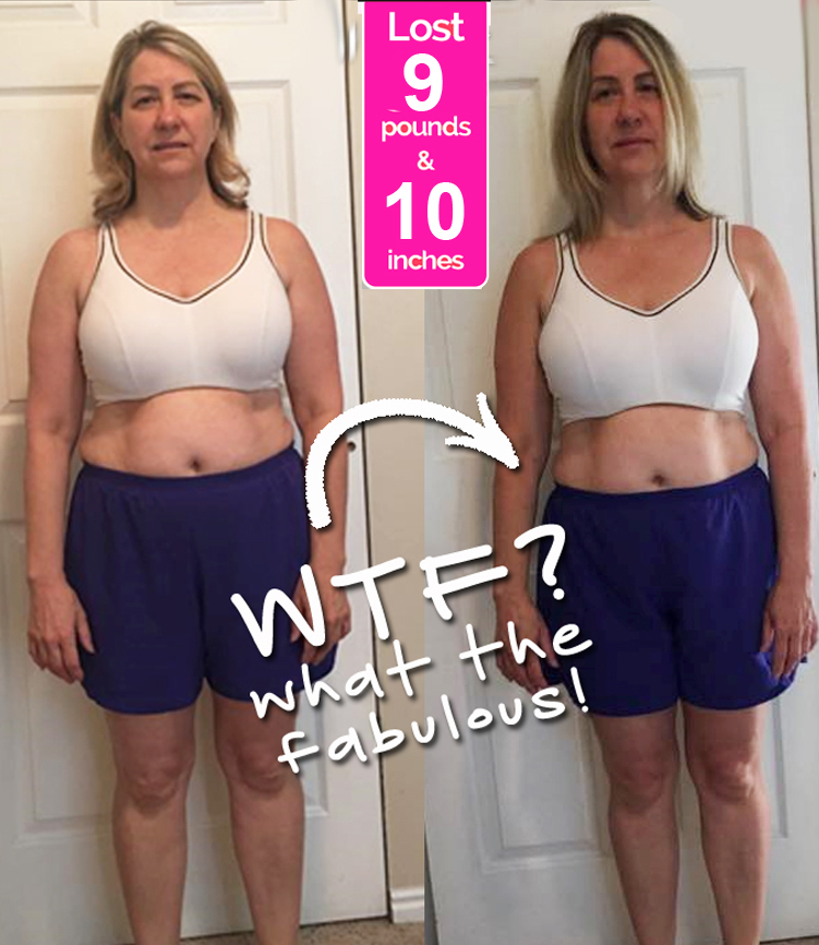 Sheri Before & After Pics - Janis Saffell 4 Week Fat Blaster