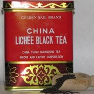 China Lichee Black Tea from Golden Sail Brand
