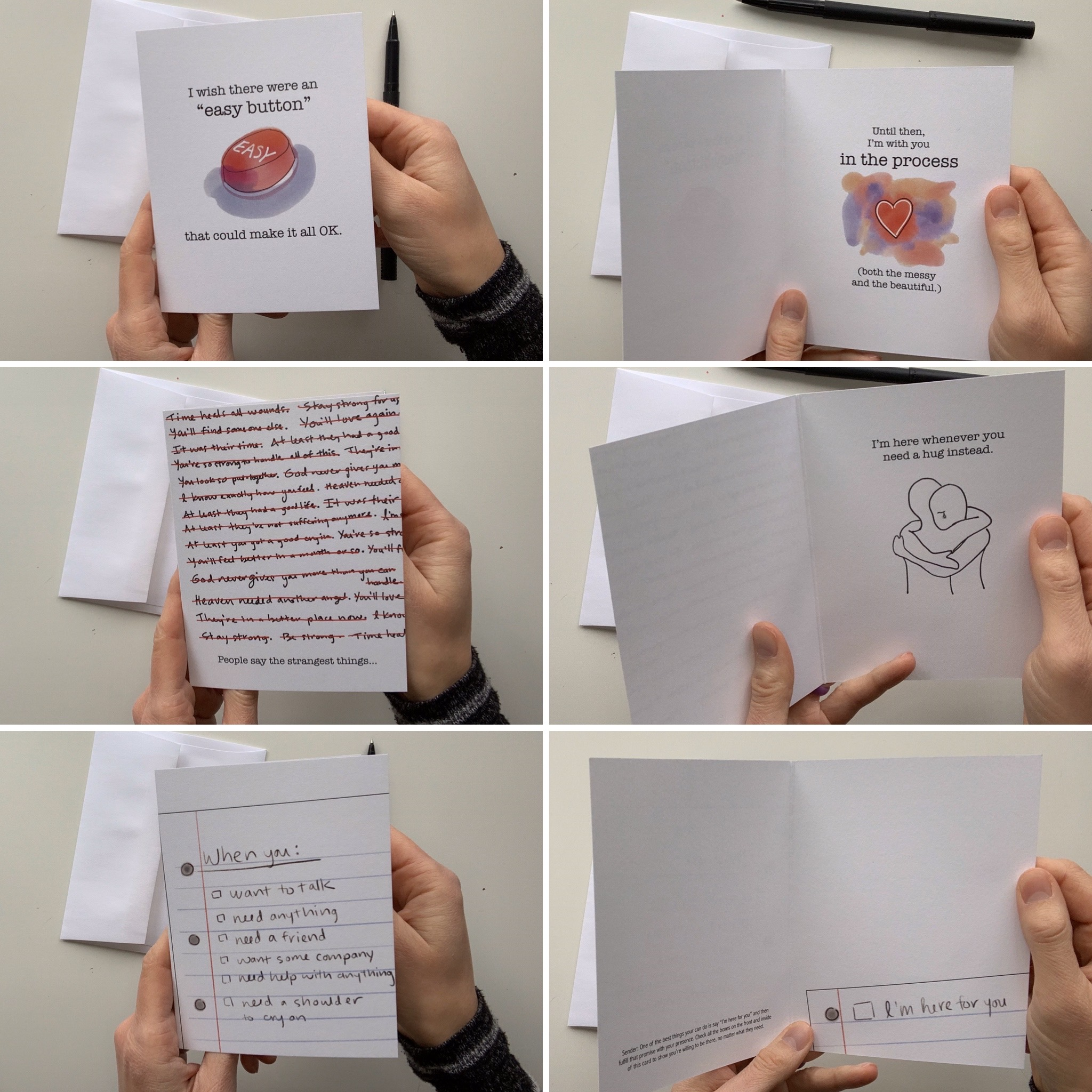 sympathy cards Danica Project Grief