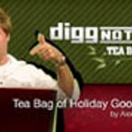 Tea Bag of Holiday Goodness from Adagio Teas Custom Blends