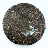 2008 Green Raw Pu-Erh from Tiberias Tea