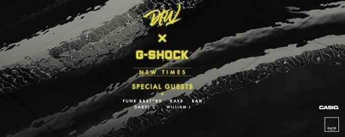 Darker Than Wax & G-Shock present New Times