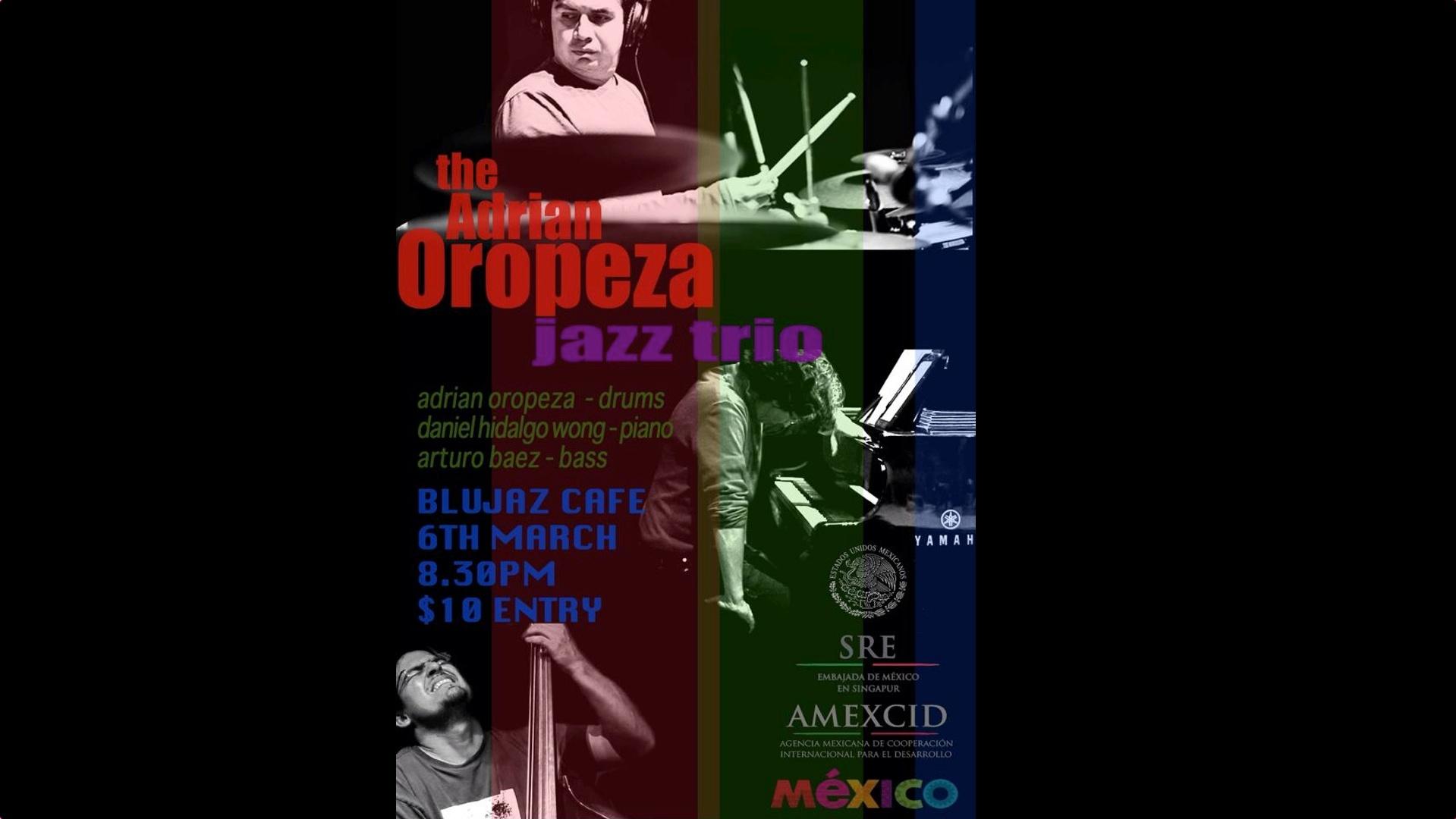 Adrian Oropeza Jazz Trio