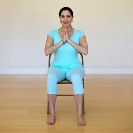 Stacie, Chair Yoga teacher trainer and author