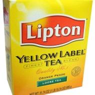 Yellow Label Loose Tea from Lipton