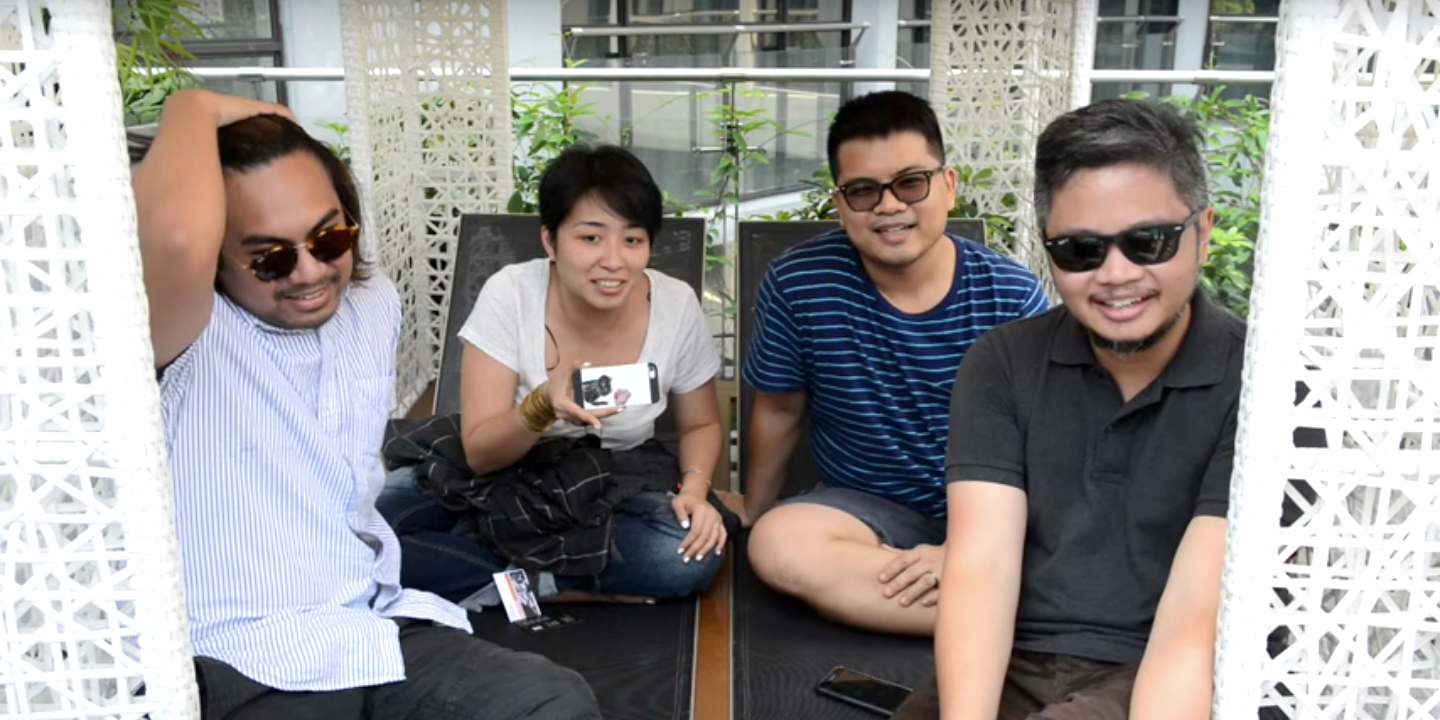 "WATCH: Up Dharma Down get tested on ""all the good things"" in Singapore"