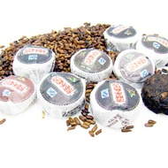 Ripe/Cooked Pu-erh Blended with Cassia Seed from ESGREEN