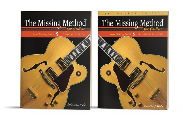 The Missing Method for Guitar Note Reading Series Book 5