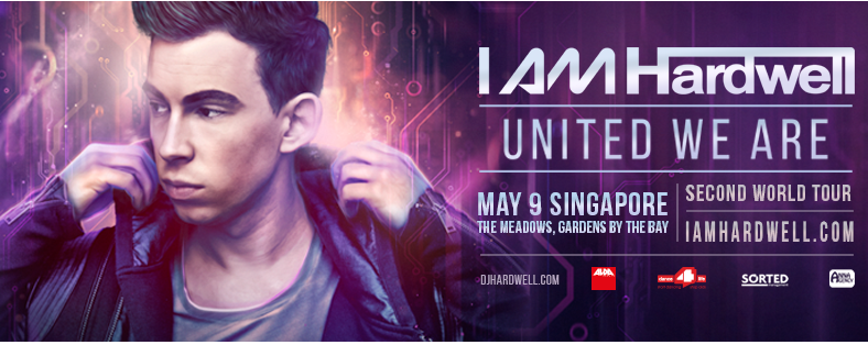 I AM HARDWELL UNITED WE ARE SINGAPORE