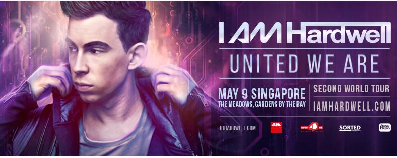 I AM HARDWELL UNITED WE ARE SINGAPORE