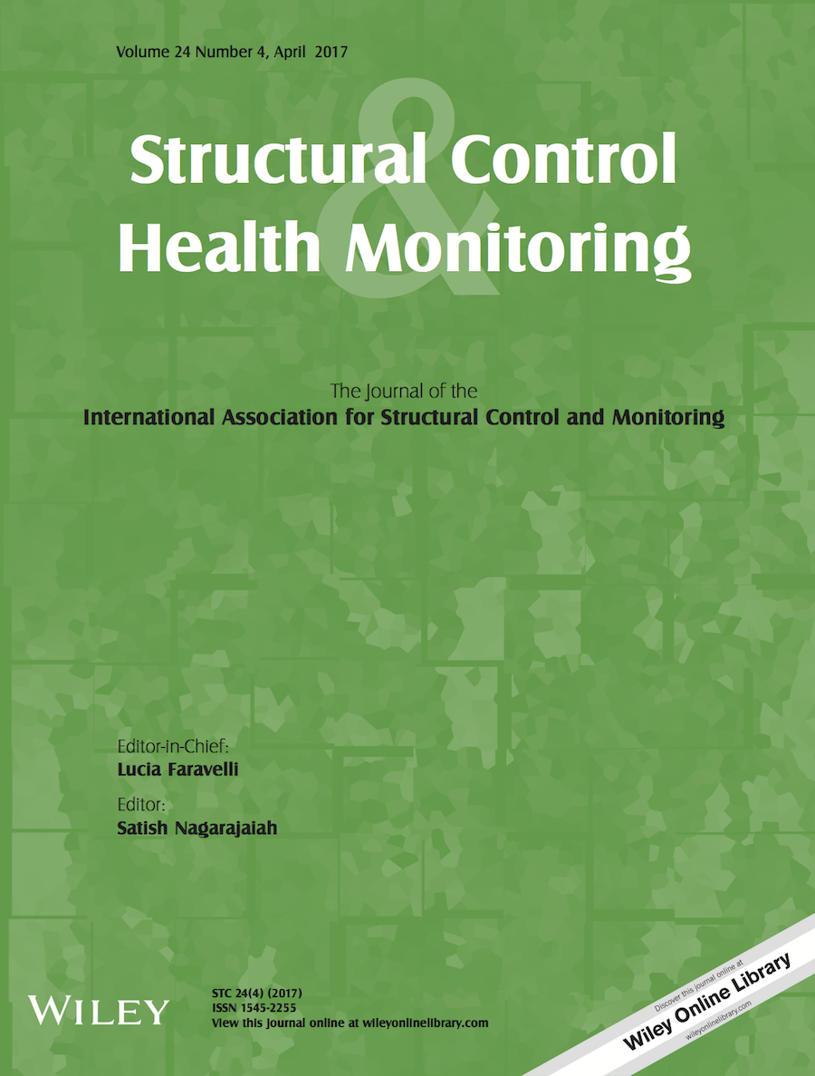 Template for submissions to Structural Control and Health Monitoring