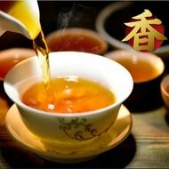 Qu Jiang Flakes Coin-shaped China Hu Nan Anhua Hei Cha Mini Dark Tea Cake from Dragon Tea House