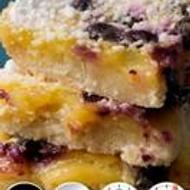 Lemon Blueberry Cookie Dough from 52teas