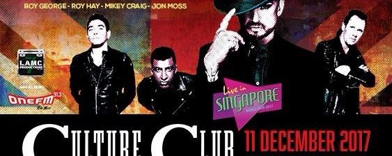 Culture Club · Live in Singapore