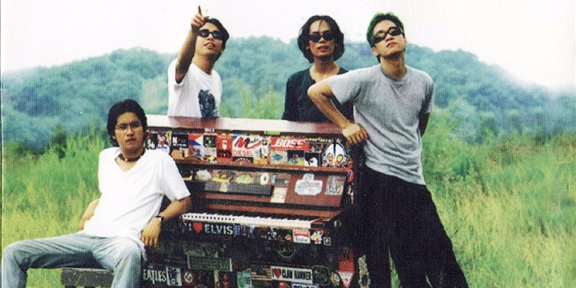 The Eraserheads celebrate 20 years of Sticker Happy with new Team Manila merch collection