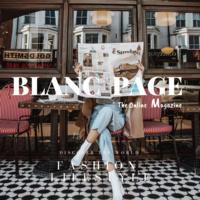 BLANC PAGE Magazine Company Logo