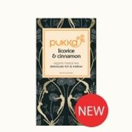 Licorice & Cinnamon (formerly Pleasure) from Pukka