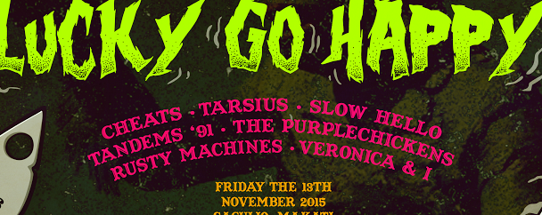 PASS THE HAT + SALAD DAYS PRESENT: LUCKY GO HAPPY
