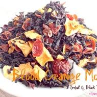 Blood Orange Mocha {Herbal & Black Tea Blend} from iHeartTeas