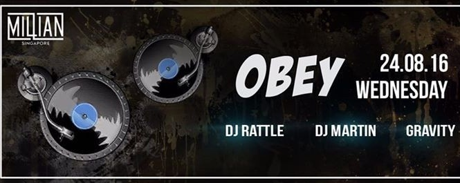 Obey Hiphop Wednesday