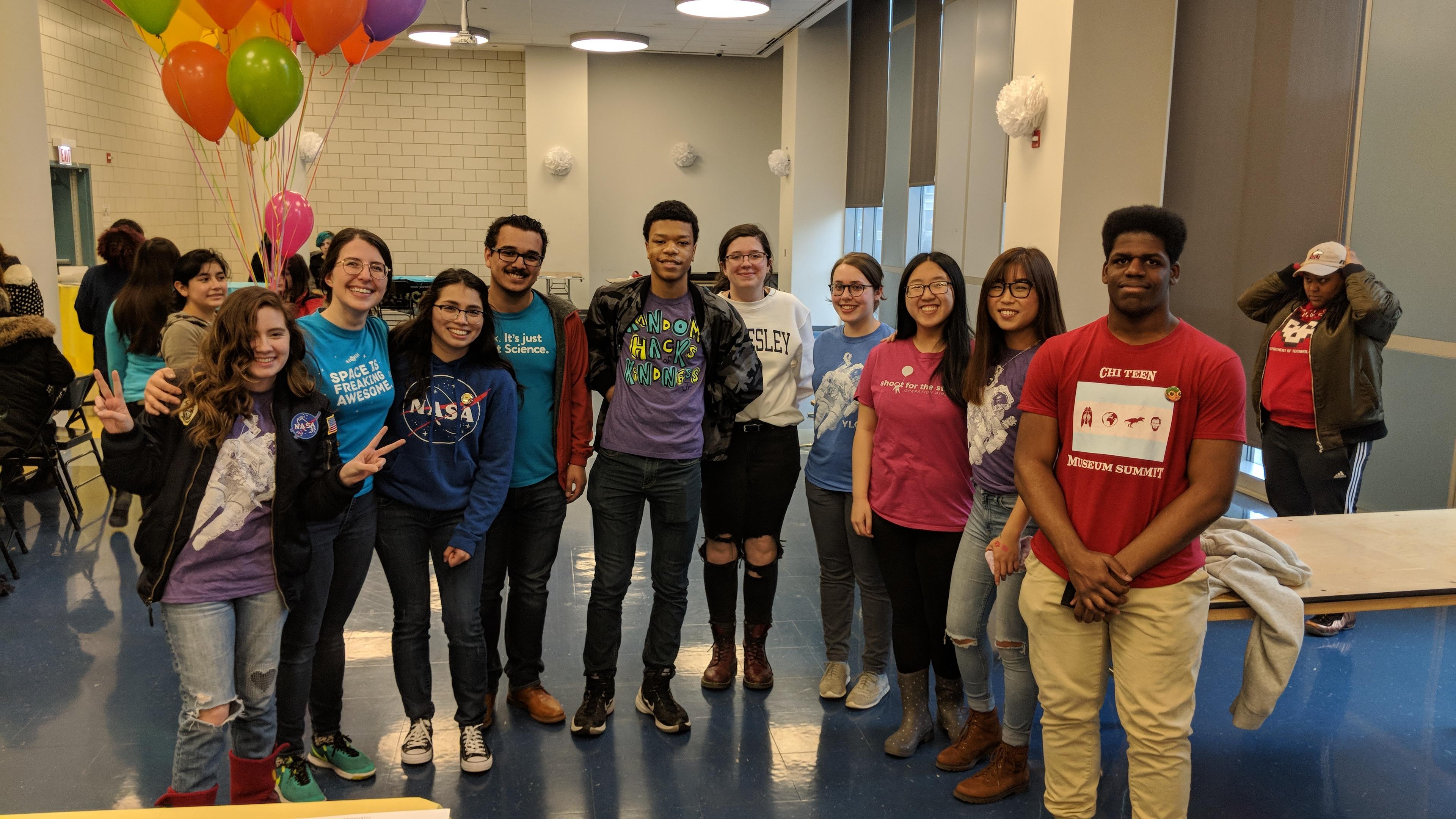Adler Planetarium's Youth Leadership Council