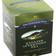 English Afternoon Tea from New English Teas
