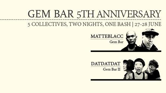 Gem Bar 5th Anniversary