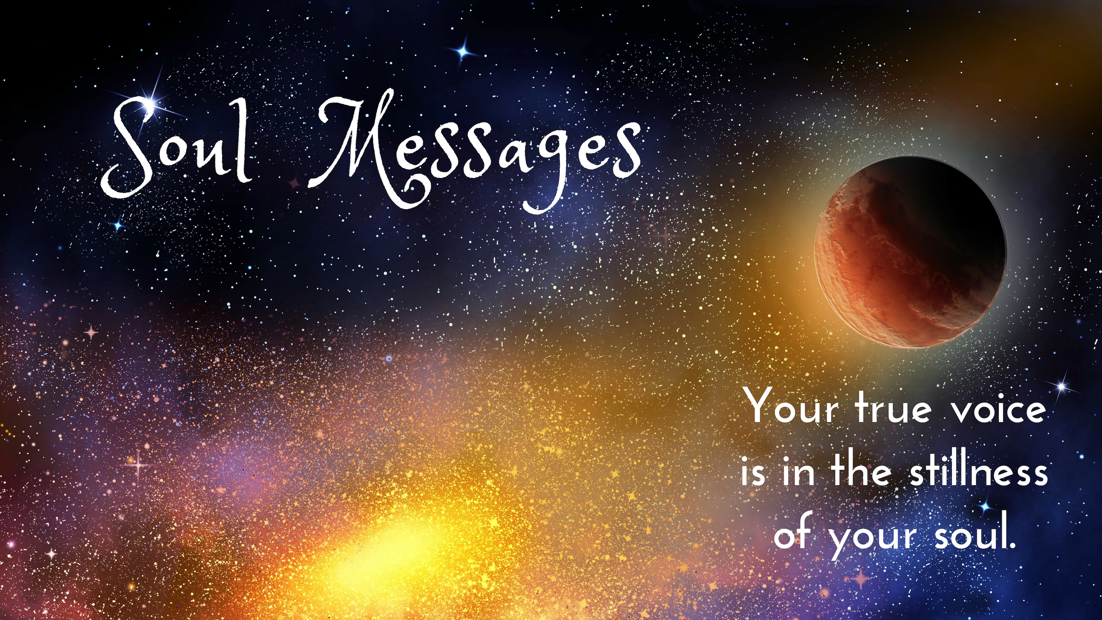 Soul Messages email subscription