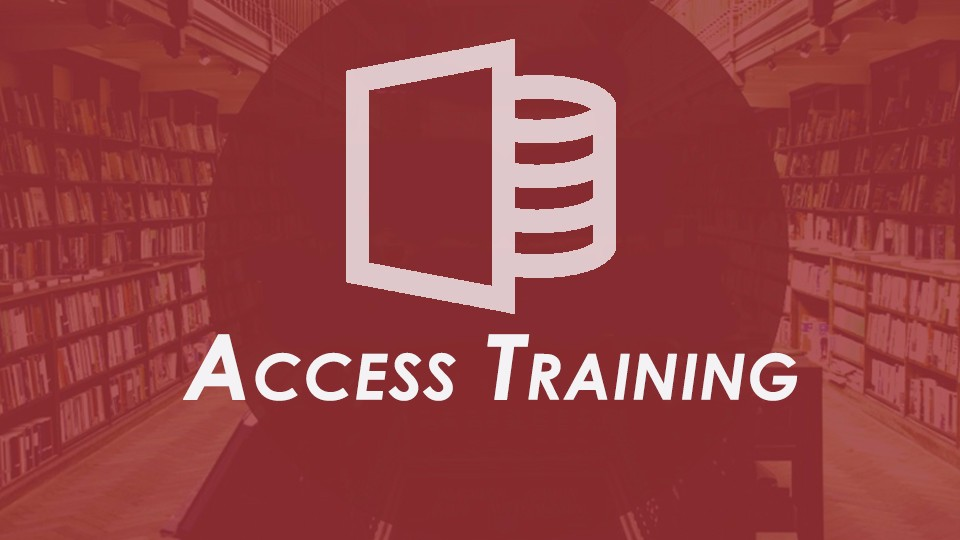 Microsoft Access 2016 Training included in Office training bundle