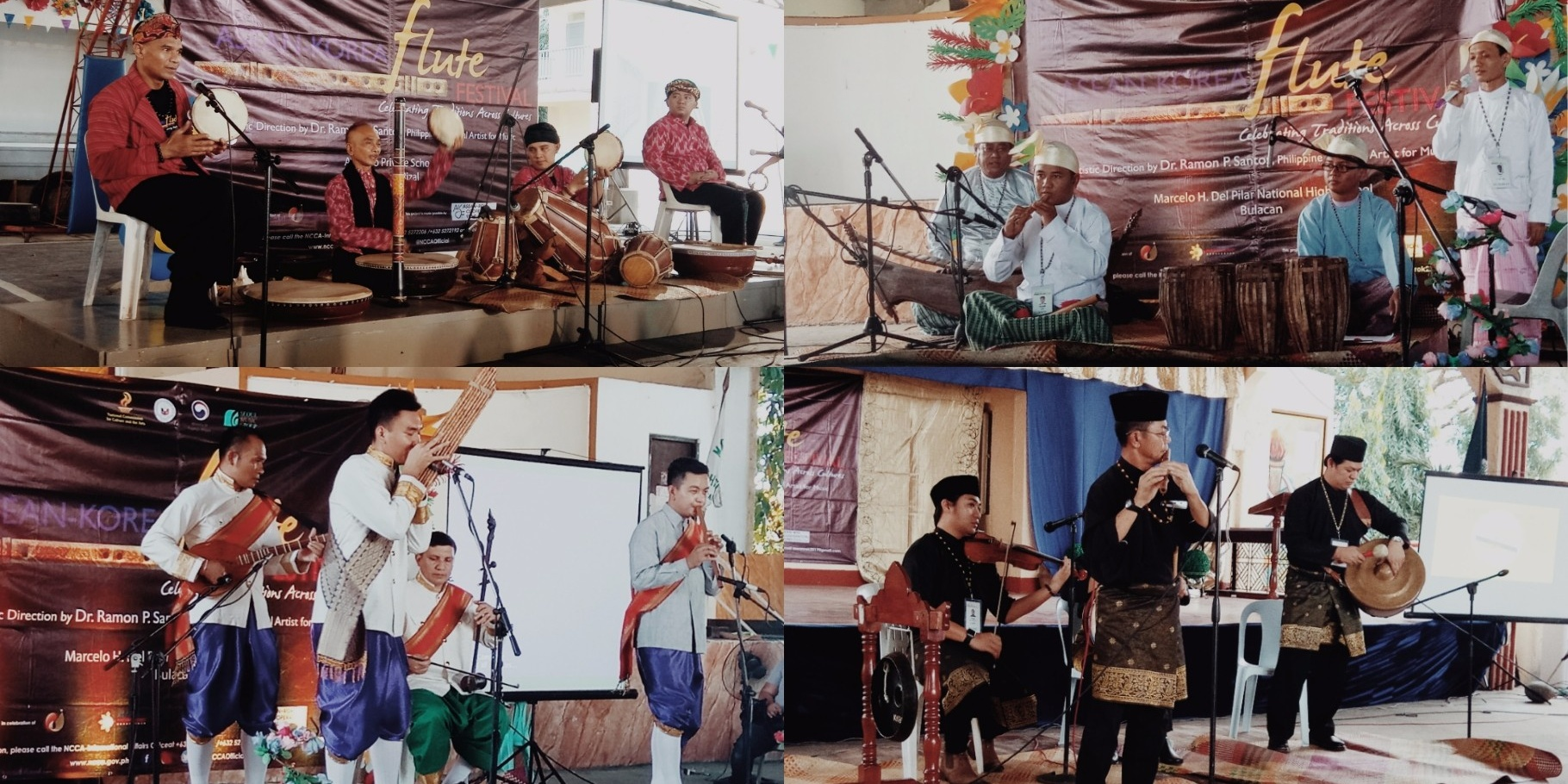 ASEAN-Korea Flute Festival centers on Traditional Music Education for the youth