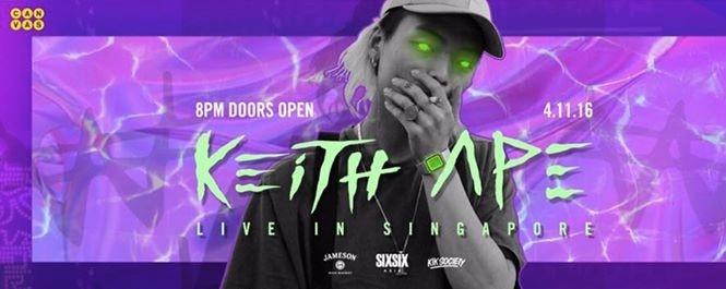Canvas Presents Keith Ape Live