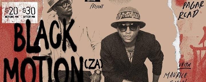 Kilo Live x After Dark present Black Motion (ZA)