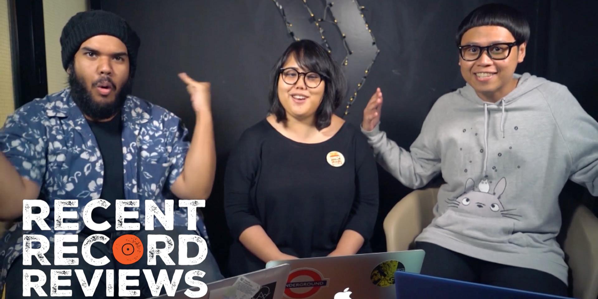 WATCH: Bandwagon Recent Record Reviews #009 - Tacit Aria, Pixel Apartment, Savages
