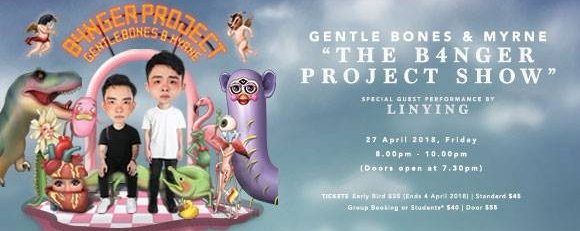 Gentle Bones & MYRNE - The B4NGER PROJECT Show