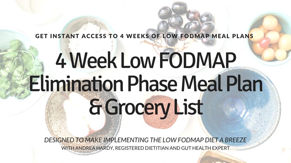 Low Fodmap Meal Plan Vault Nutrition Academy