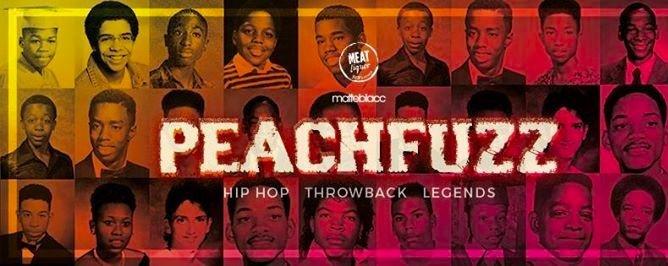 Matteblacc x MEATliquor presents Peachfuzz