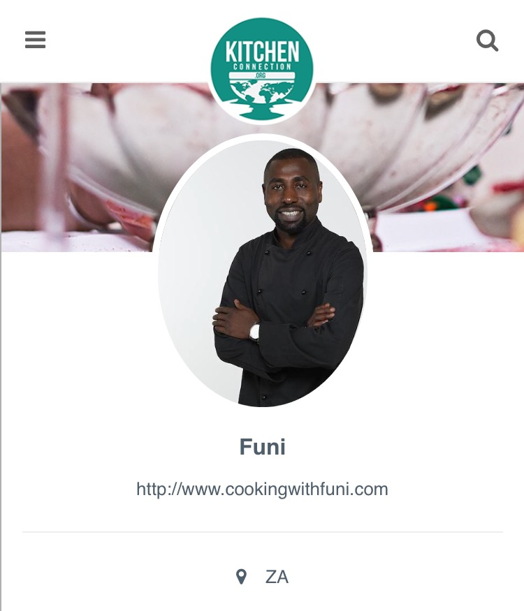 Kitchen Connection Posts: Featured Cheffie: Lufuno From South Africa