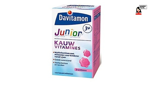 Davitamon Kauw vitamines Junior