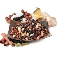 Toasted Nut Brulee Oolong & Skinny Chai Pu-erh Blend from Teavana