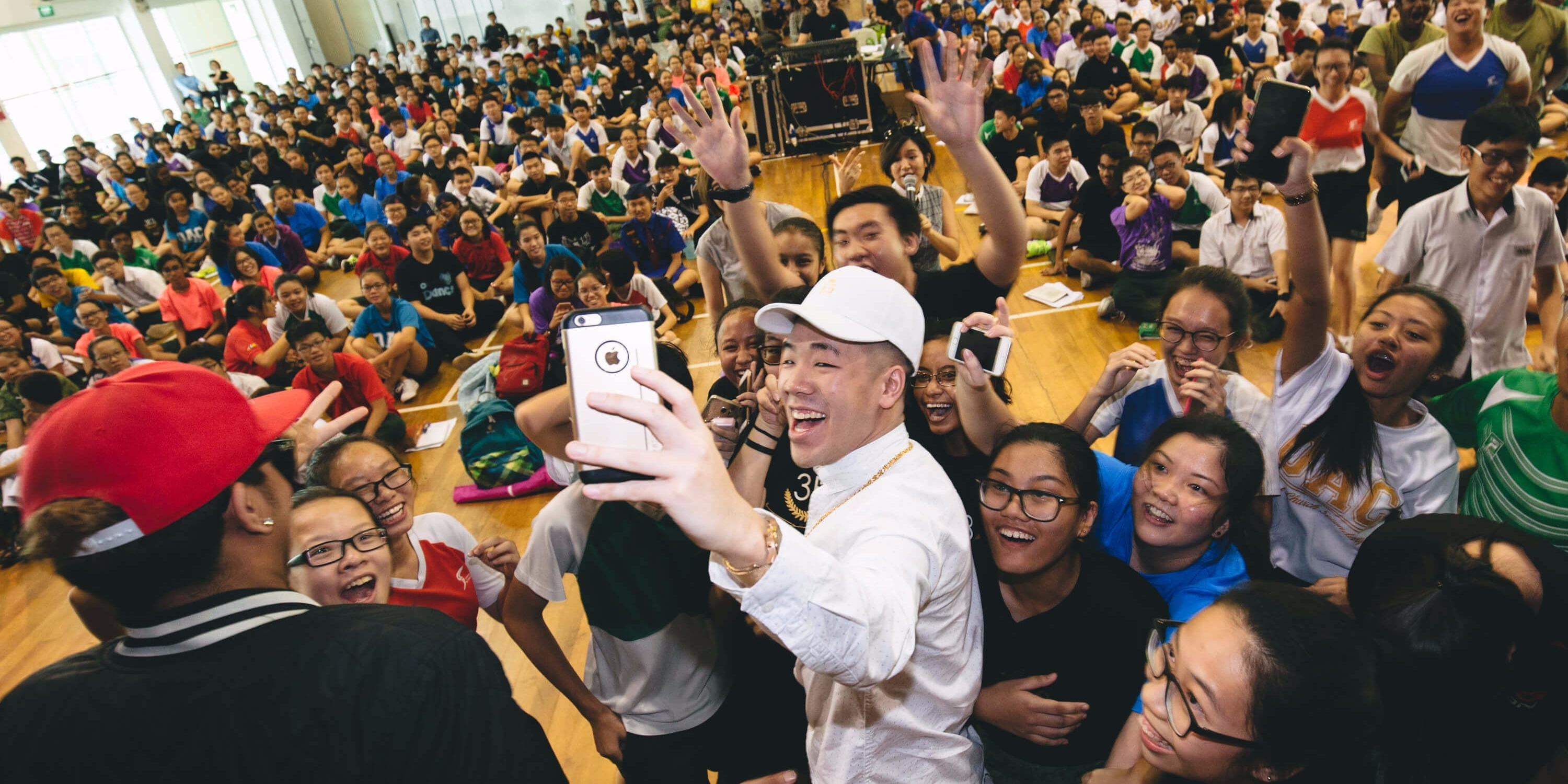 Catching up with Singapore's coolest school program, the *SCAPE Invasion Tour 2016