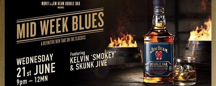 Monti x Jim Beam Double Oak Presents Mid Week Blues