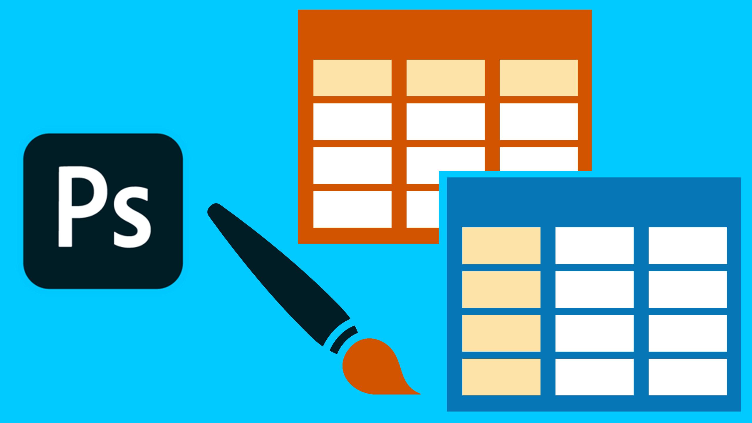 Aprende a diseñar una lista de precios en Photoshop