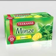 Mint with lemon from Teekanne