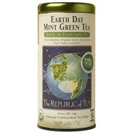 Earth Day Mint Green Tea from The Republic of Tea
