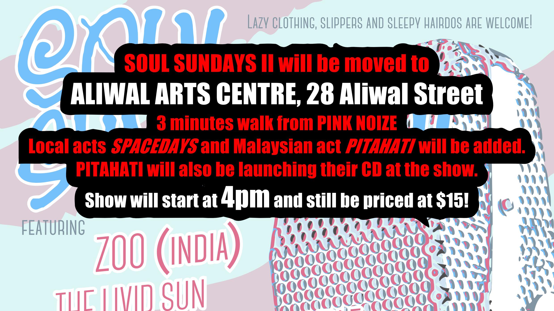 Soul Sundays II + PITAHATI - Merapah Fonetik