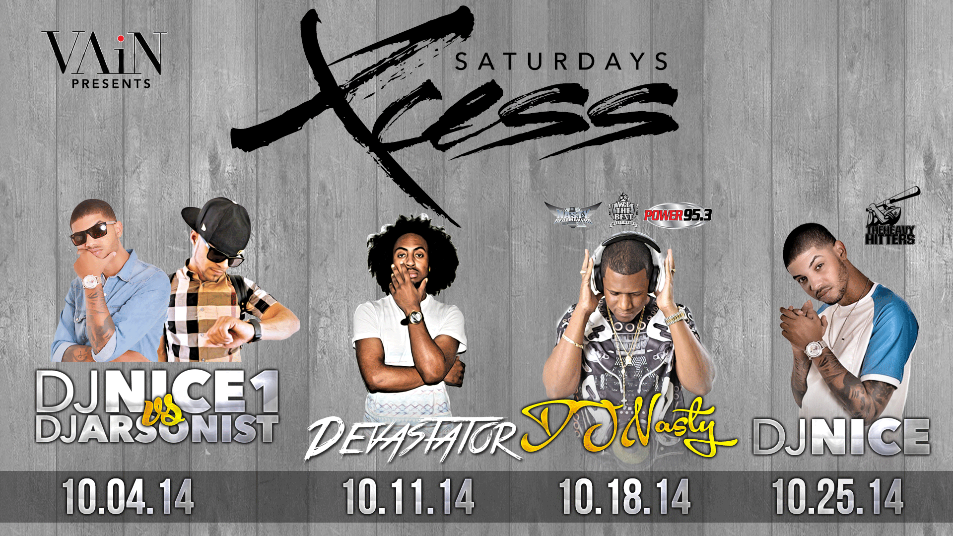 Xcess Saturdays